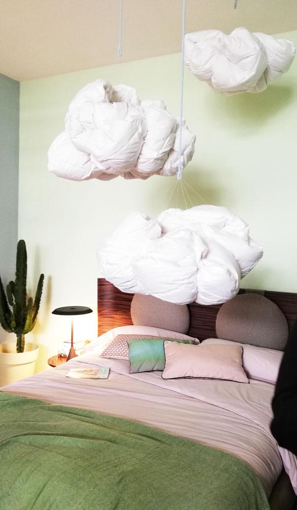 Camera da letto al CasaFacile DesignLab 2019