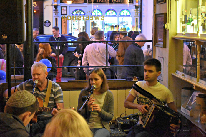 Closing night party at Reidys, Killarney, Ireland
