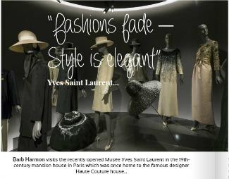 Fashions Fade YSL