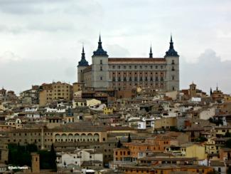 The Alcazar in Toledo, Spain