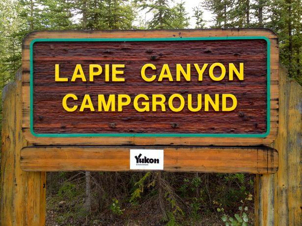 Lapie Canyon Campground