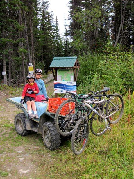 atv bike shuttle
