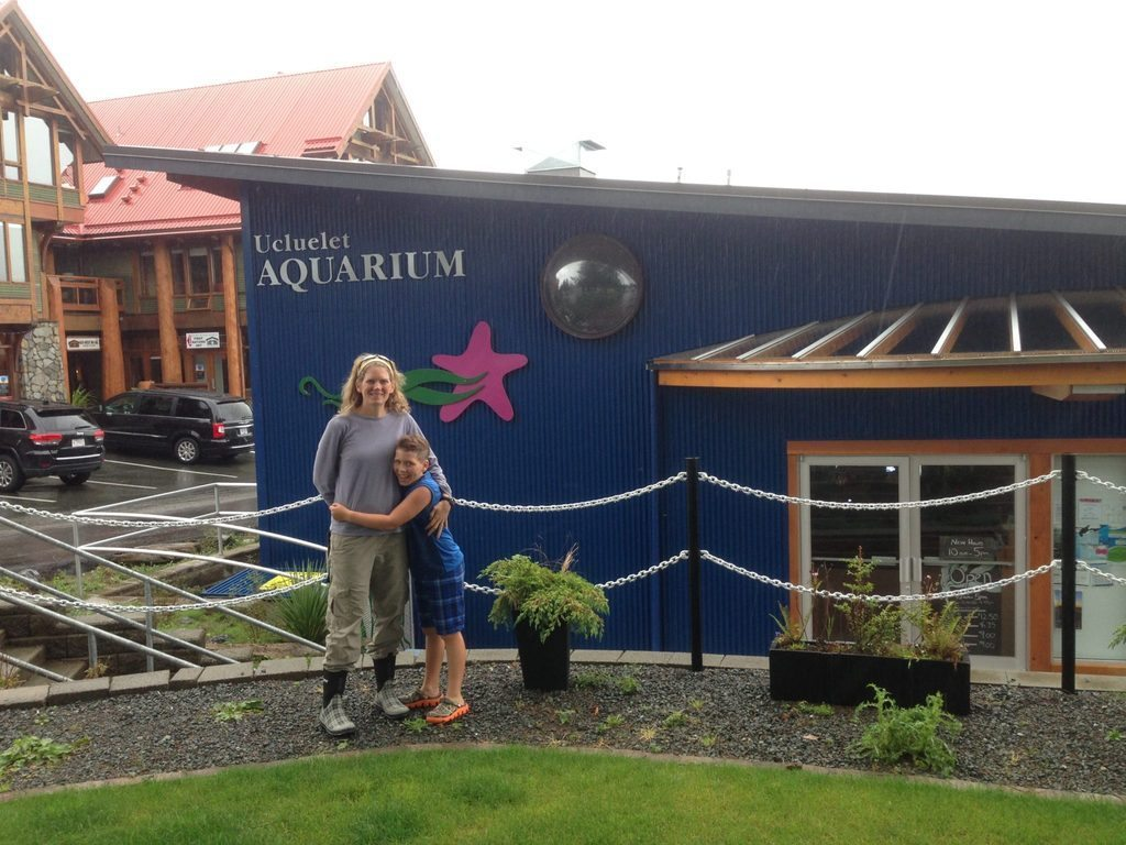 Lee & Hunter ucluelet aquarium