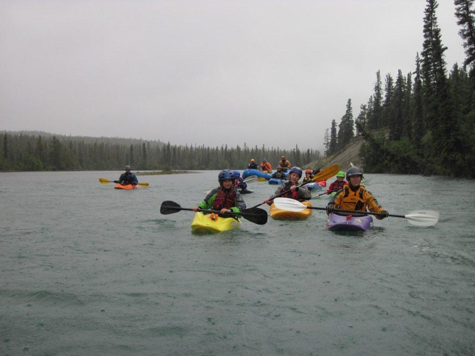 takhini kids kayak day