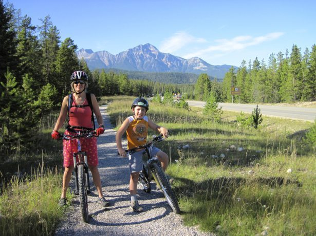 bike paths in Jasper