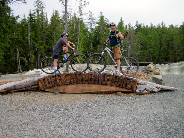 tim hunter tofino bike park