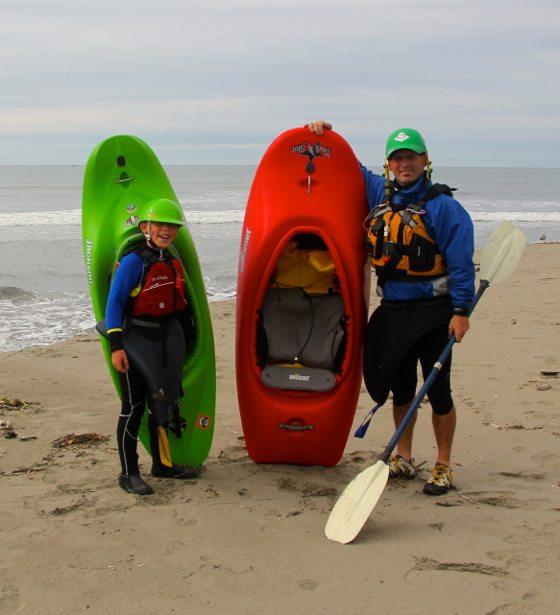 tim hunter surf kayaking