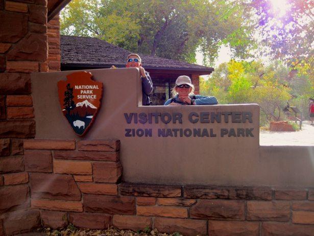 lee hunter zion national park sign