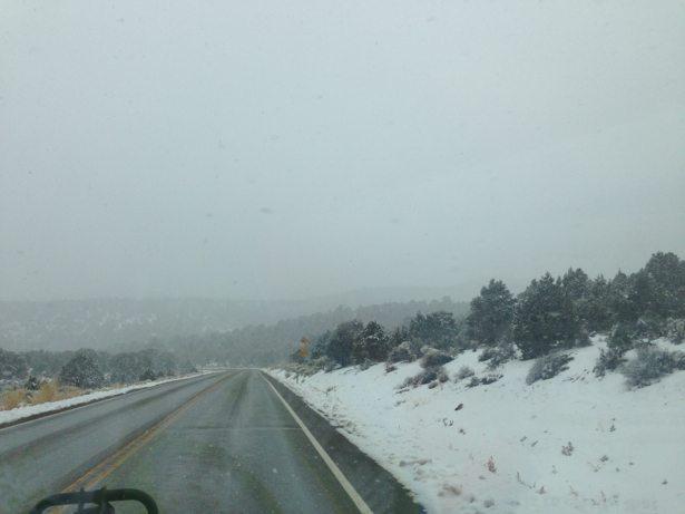 nevada snowy road #1