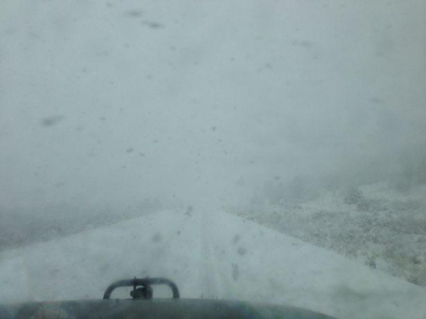 nevada snowy road #3