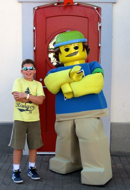 hunter legoland character
