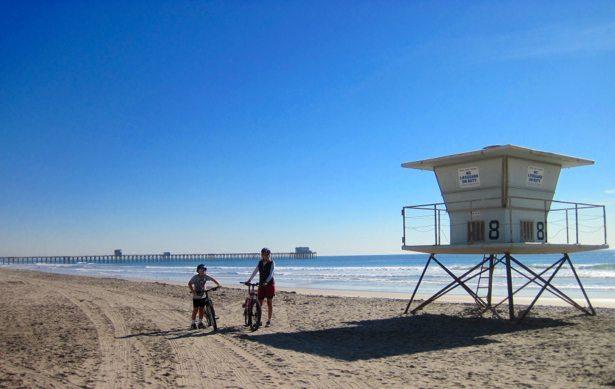 oceanside lifeguard station bikes
