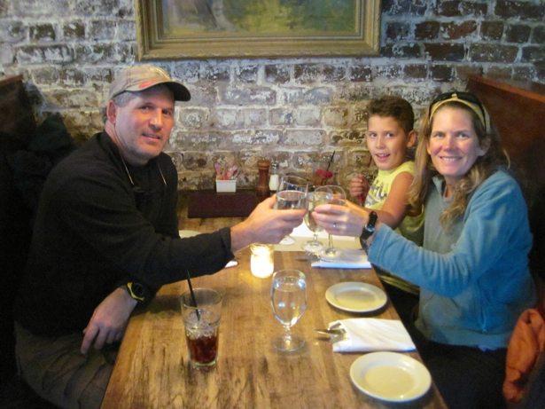 dinner at Virginia's on King