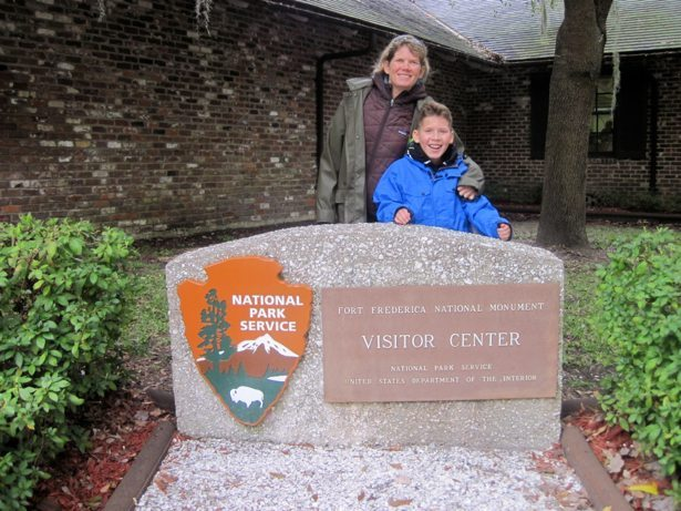 fort frederica visitor centre