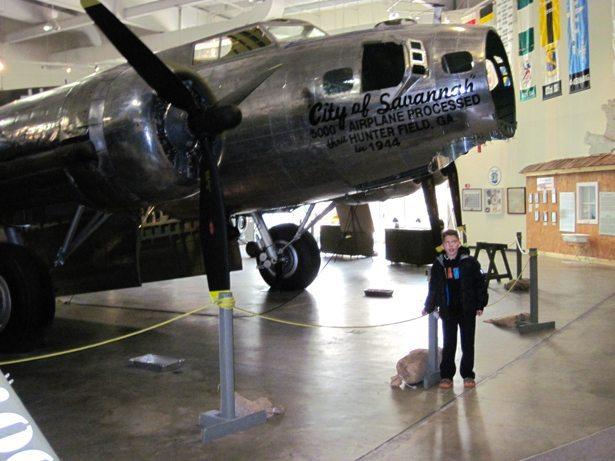 hunter historic plane 2