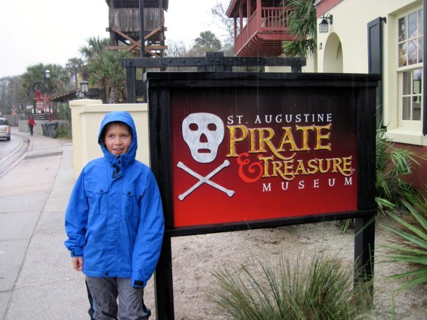 hunter pirate museum st augustine