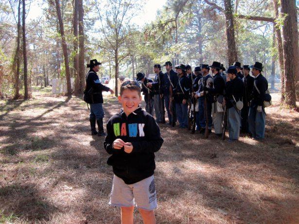 hunter & union troops