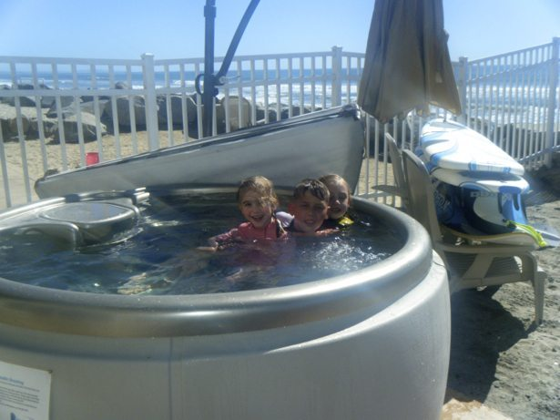 kids hot tub