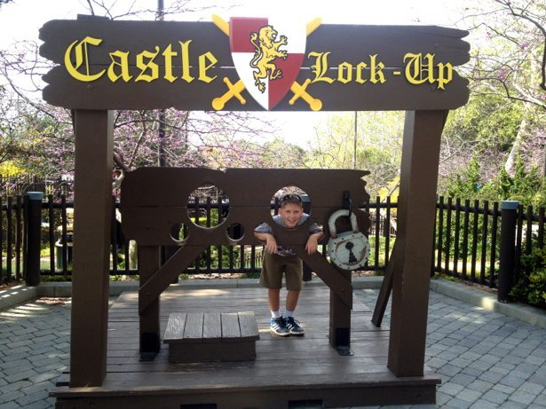 hunter in the stocks legoland