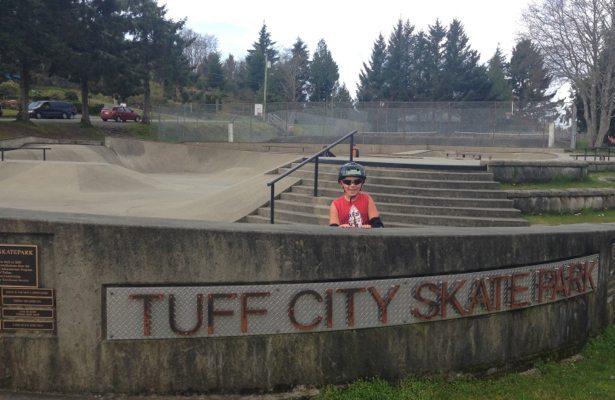 TUFF City skate park