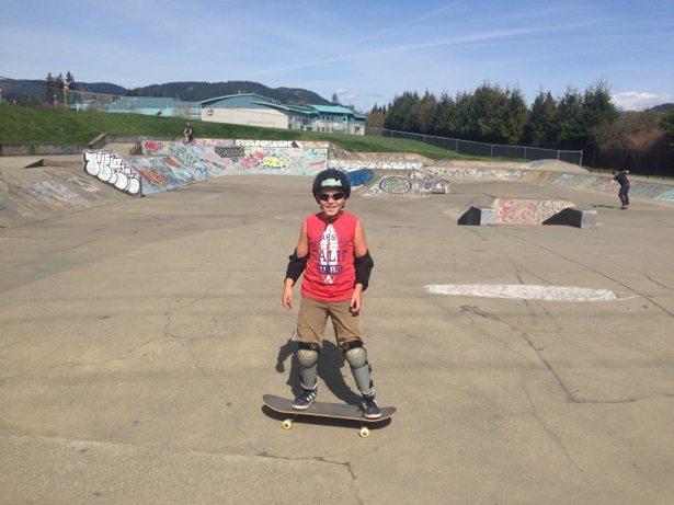 hunter sooke skate park
