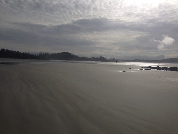south chesterman beach low tide