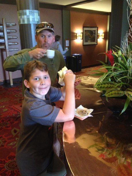 tea at harrison hot springs