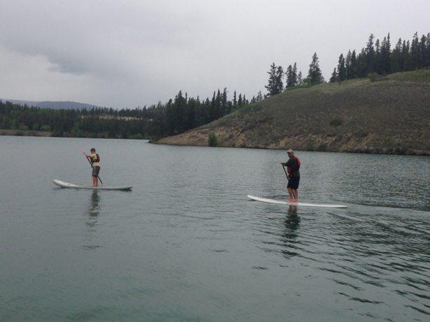 hunter tim paddle board