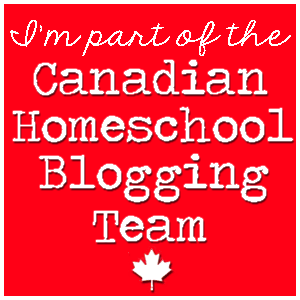 Canadian Homeschool Blogging Team Badge