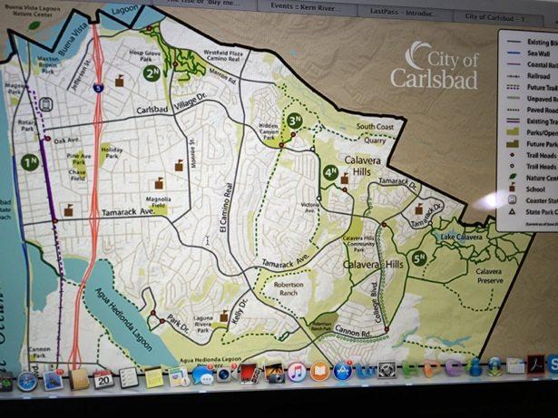 carlsbad trail map