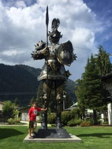 Doesn't everyone have a giant knight??