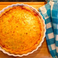 Back to the Basics with Julia Child's Leek Quiche