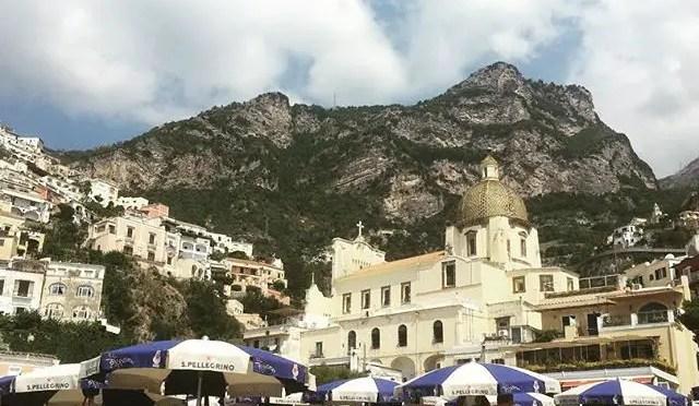 Golden Summer On The Amalfi Coast