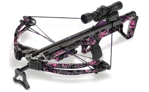 The Carbon Express Covert™ 3.4 Hot Pursuit Crossbow Caters to the Tactical Women