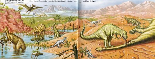 Dinosaurier - Cretaceous