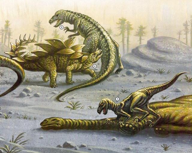 Dinosaurier - carnivores
