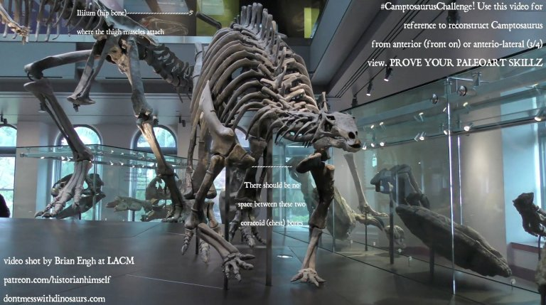"Brian Engh's ""Camptosaurus Challenge"" call to action"