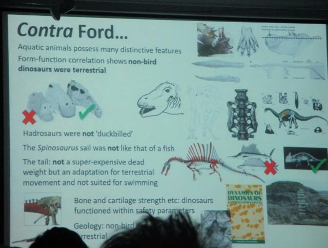 Darren's concluding slide.