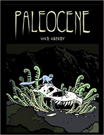 "Cover of Mike Keesey's ""Paleocene"" comic book collection"