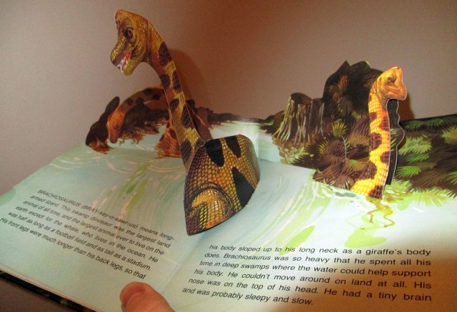 Brachiosaurus spread
