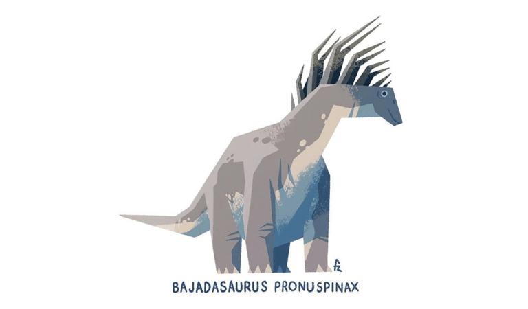 Bajadasaurus illustration by Francisco Riolobos