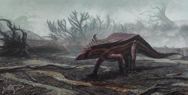 Desmatosuchus by FinwalSMD