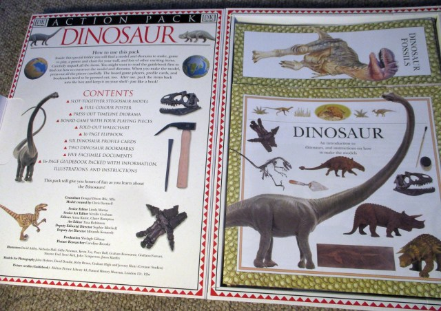 Dinosaur Action Pack - opened