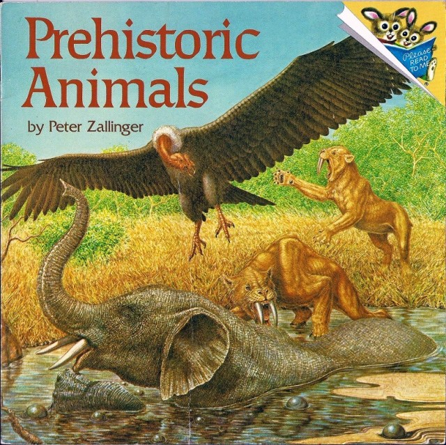 Prehistoric Animals by Peter Zallinger cover