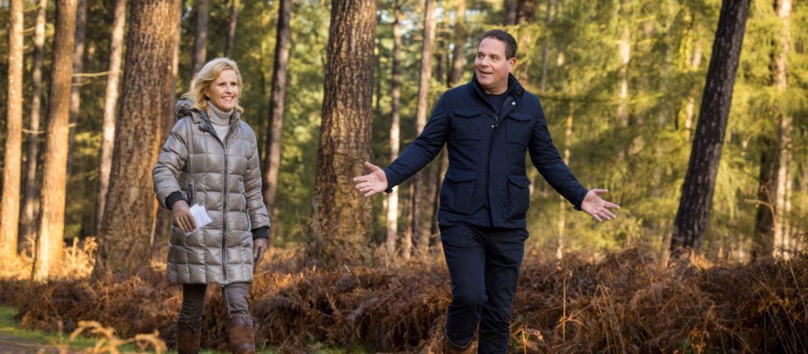 De wandeling met Michael de Nijs, CEO van Voogd & Voogd: 'Heerlijk om verantwoordelijkheid met meer mensen te delen'