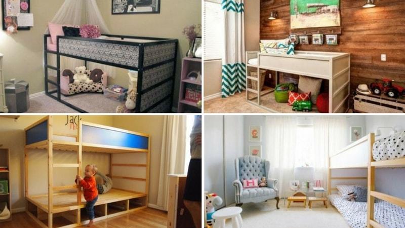 45 Idées De Chambre Pour Enfants Avec Des Lits Ikea Kura