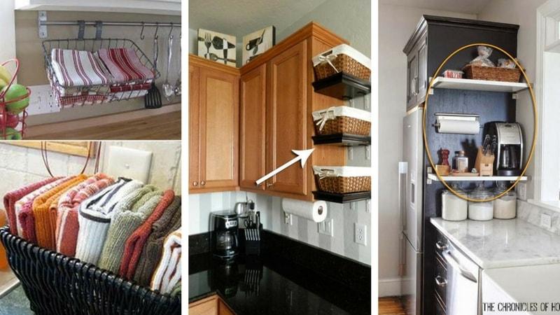 21 idees de rangement pour votre comptoir de cuisine qui changent la vie
