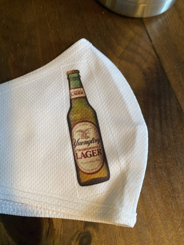 Beer Bottle Yuengling Face covering Mask