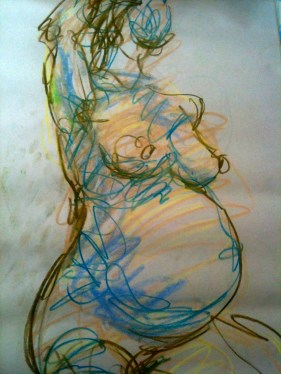 Female nude - Pregnancy #4