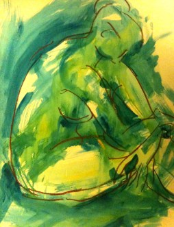 Blue Nude #2